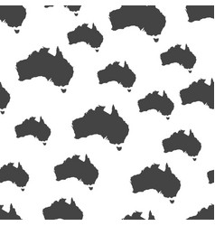 Australia map seamless pattern business concept vector