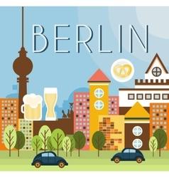 Berlin landscape vector