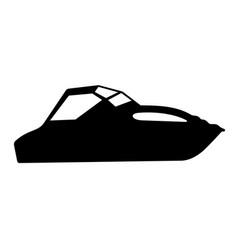 Cutter boats vector