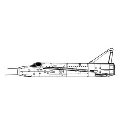 English electric p1a wg760 vector