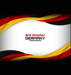 Germany flag concept background vector