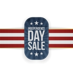 Independence Day Sale special Label vector image