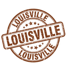 Louisville stamp vector