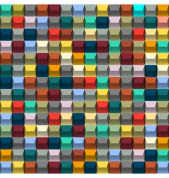 Multicolored background with blocks vector image