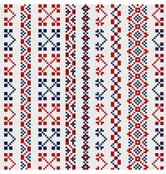 national pattern vector image