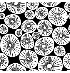 pattern stylish structure of natural cells vector image