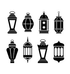 Ramadan Arabic Lanterns vector