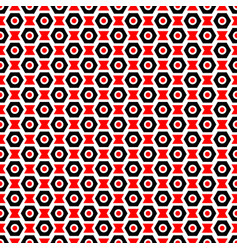 Red black and white seamless abstract mechanic vector