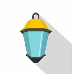 Street light icon flat style vector