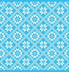 traditional scandinavian pattern nordic ethnic vector image