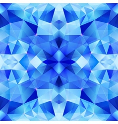 Blue abstract shining ice seamless pattern vector image