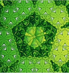 A green pattern vector