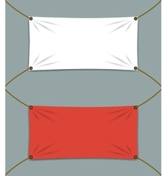 Clean Textile Banners vector