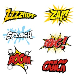Comic Sound Effect vector