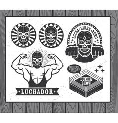 Lucha Libre vector