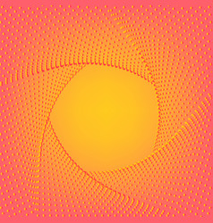 Yellow pink background minimal geometric vector