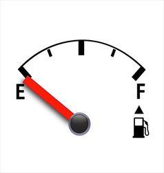 Gas meter vector image vector image
