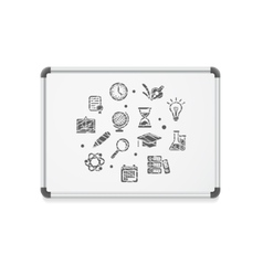 whiteboard concept icon vector image