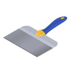 Construction spatula icon isometric style vector