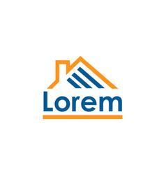 home control logo template vector image