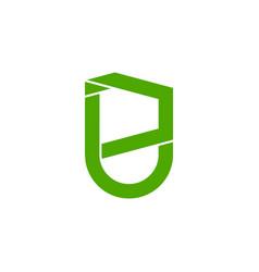 Letter pj simple geometric line symbol logo vector