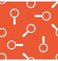 Orange search pattern vector image