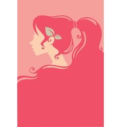 Pink beauty vector