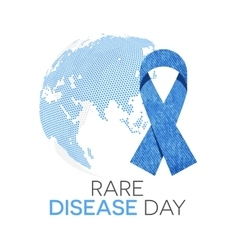 Rare Disease Day vector image