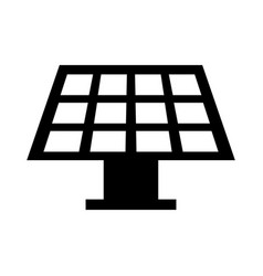 solar energy panel icon vector image