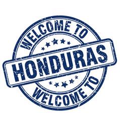 Welcome to honduras vector