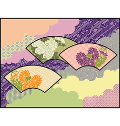 Fans in the Clouds An original design using vector image vector image