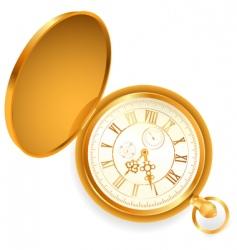 pocket clock vector image vector image