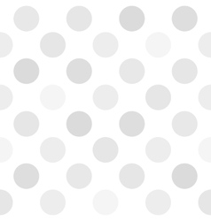 Abstract Seamless polka dot pattern vector