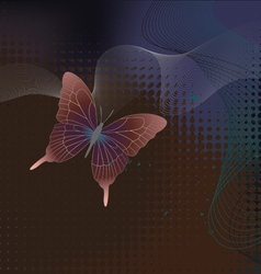 Butterflies - wallpaper vector image