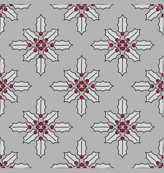 Christmas seamless pattern vector