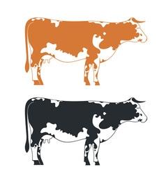Cow vector