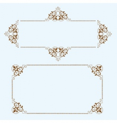 Dot frames vector