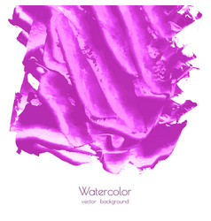 fuchsia purple lilac grunge marble watercolor vector image