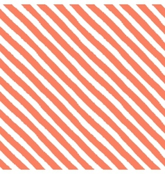 Retro seamless pattern with diagonal painted vector image