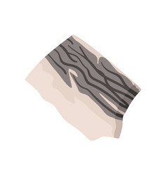 Stone geological industry element vector