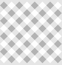 tile grey plaid pattern for seamless decoration vector image