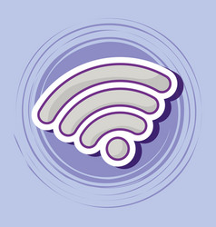wifi symbol icon vector image