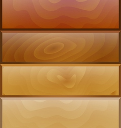 background with wooden texture vector image vector image