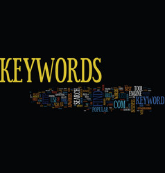 Find the best keywords for your web pages text vector