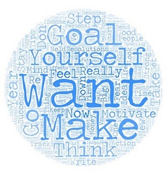 Personal Goals that Inspire and Motivate text vector image vector image