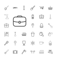 33 handle icons vector