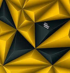 Abstract triangle 3 vector