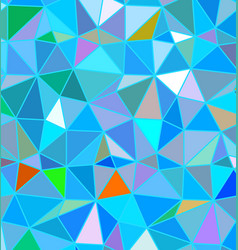 Colorful triangle abstract background vector