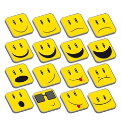 Emoticons vector