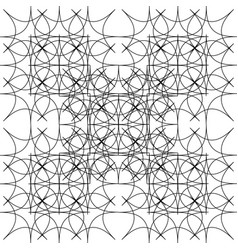 Fractal of rhombuses vector